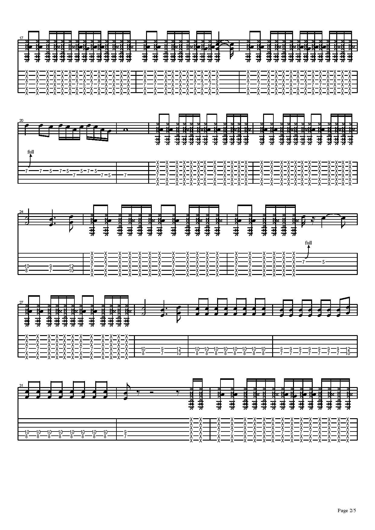搖擺-Mr.-图片吉他谱-2