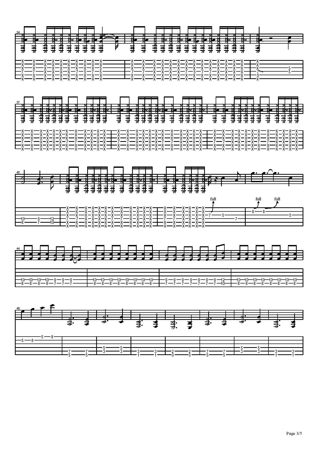 搖擺-Mr.-图片吉他谱-3