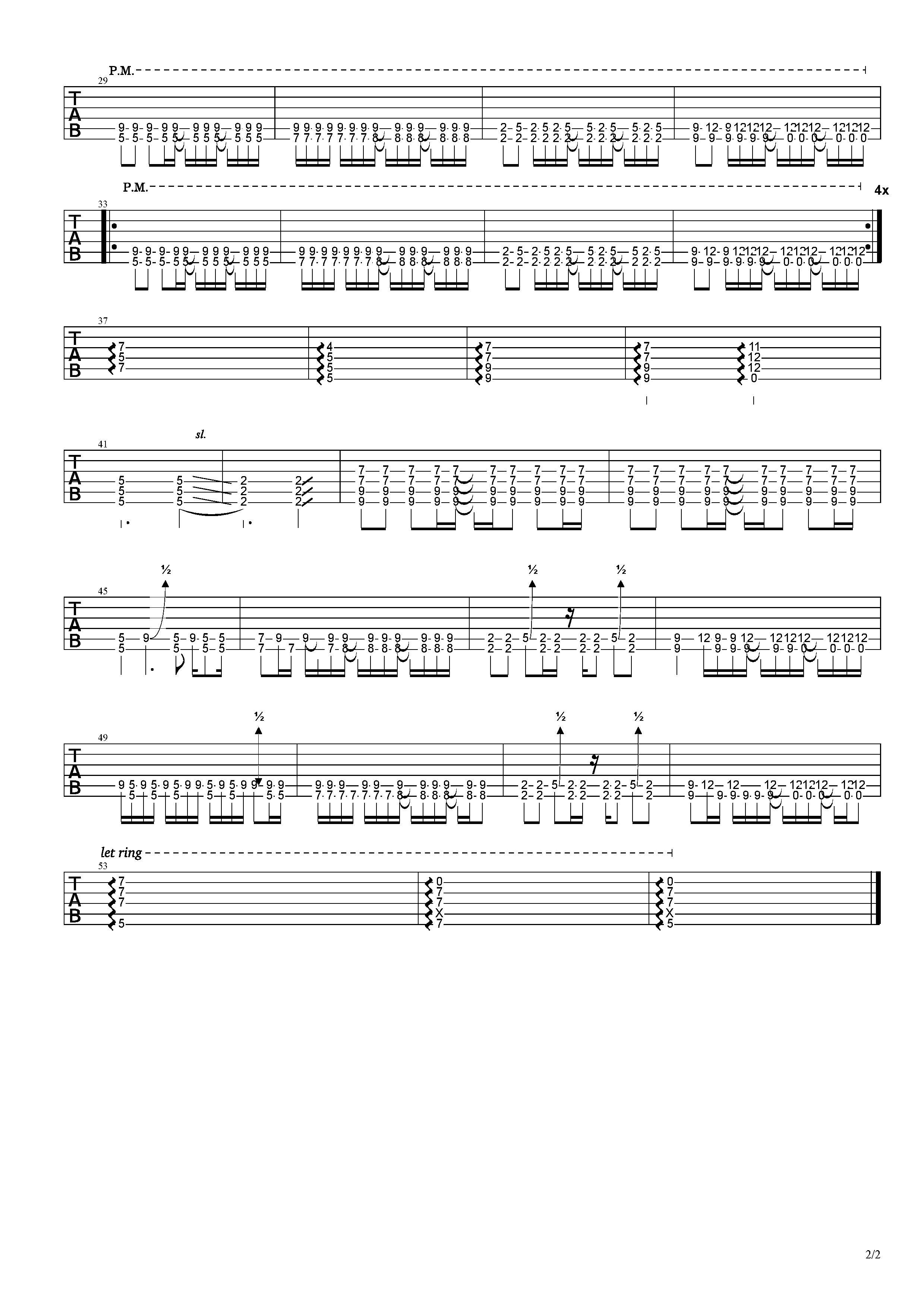 山海-草東沒有派對-图片吉他谱-2
