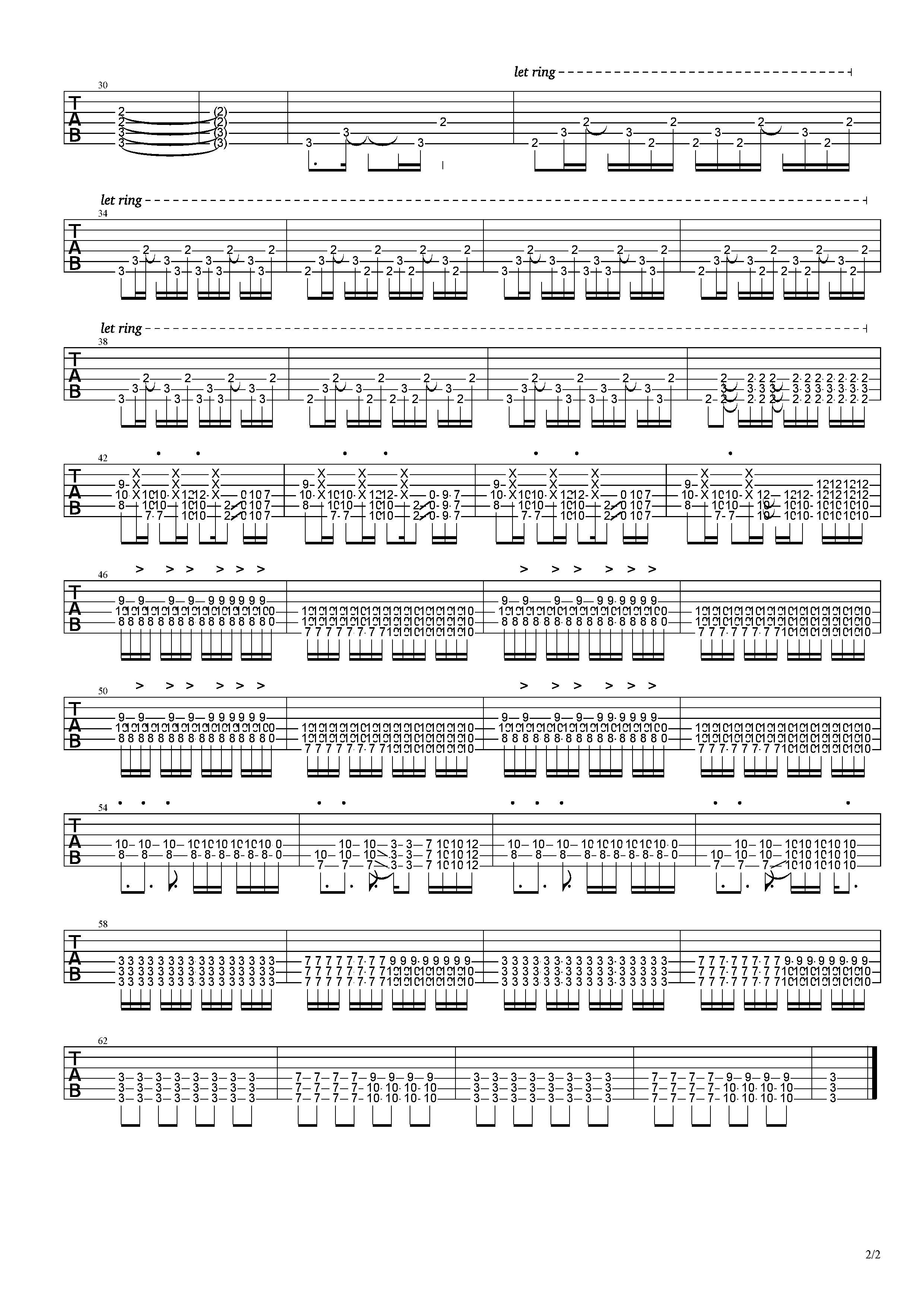 艾瑪-草東沒有派對-图片吉他谱-2
