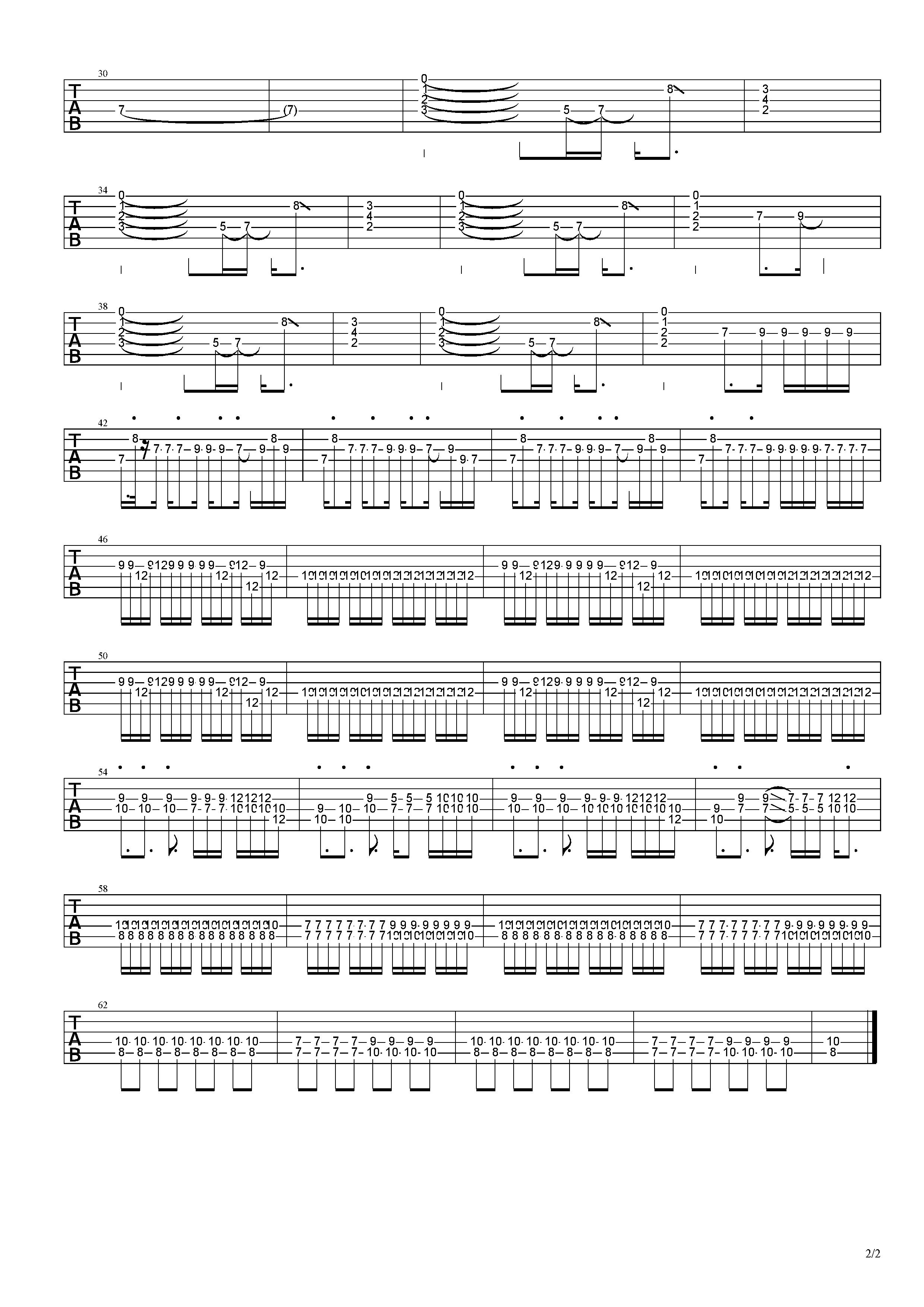 艾瑪-草東沒有派對-图片吉他谱-4