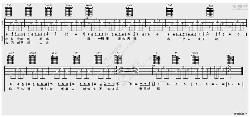 後會無期-鄧紫棋 / G.E.M.-图片吉他谱-2