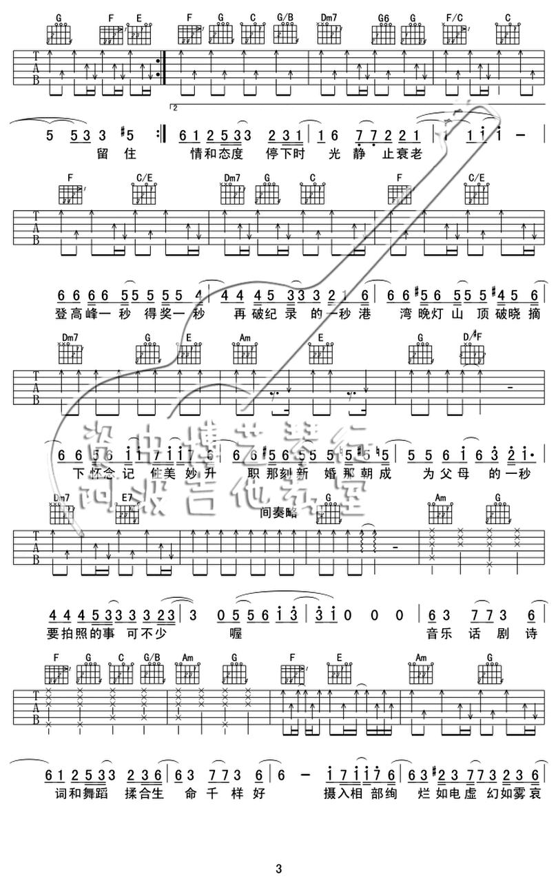 沙龍-陳奕迅-图片吉他谱-2