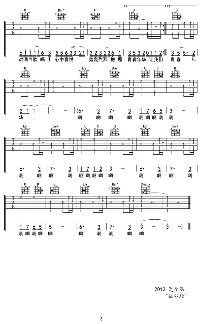 當-動力火車-图片吉他谱-2