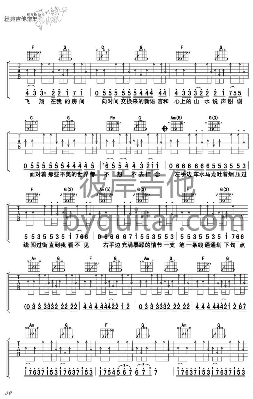 小宇宙-蘇打綠-图片吉他谱-2