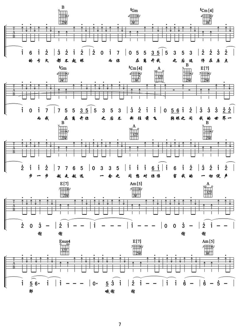 再遇見-蘇打綠-图片吉他谱-6
