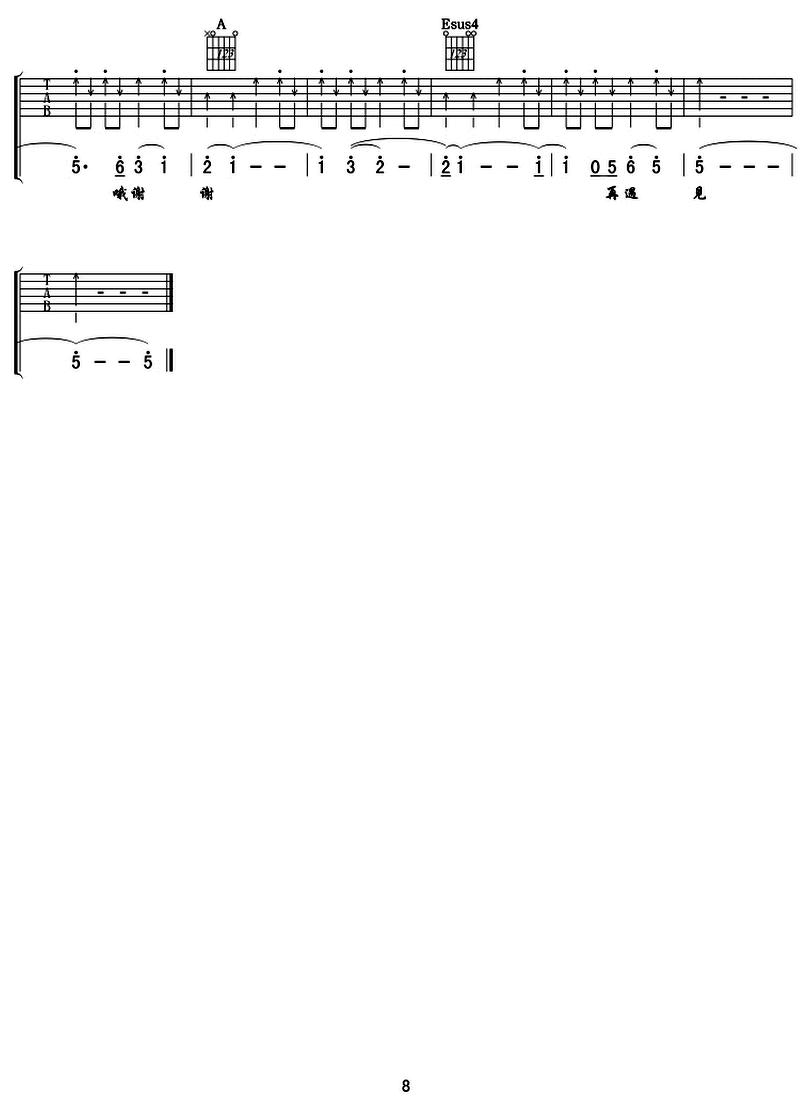 再遇見-蘇打綠-图片吉他谱-7