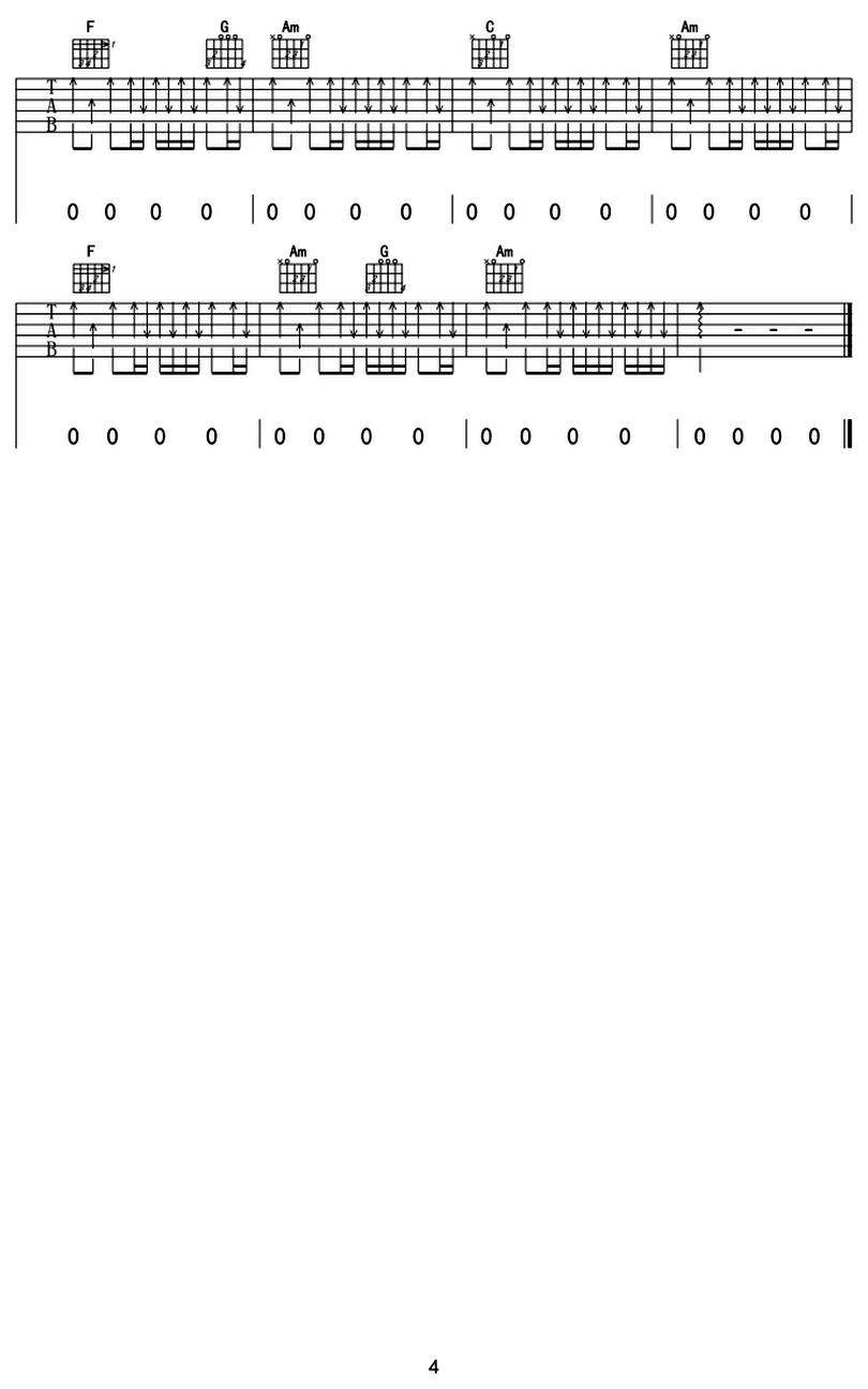 空谷幽蘭-許巍-图片吉他谱-3