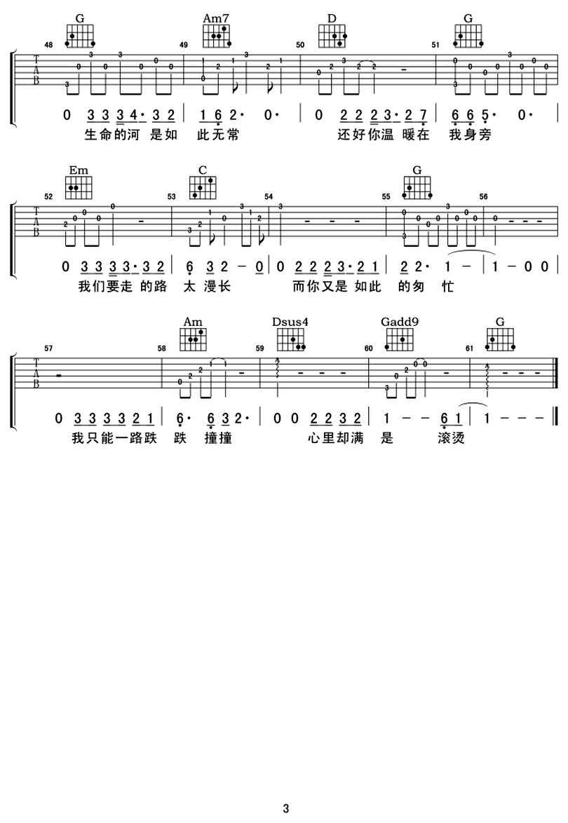 還好有你-品冠-图片吉他谱-2